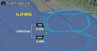 Ini Dia Detik-detik Pesawat Garuda dan Lion Air 'Nyaris Tabrakan' di Langit Bali