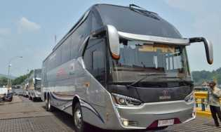 Bus Premium Kelas Ekonomi Layani Rute Sumatera-Jawa