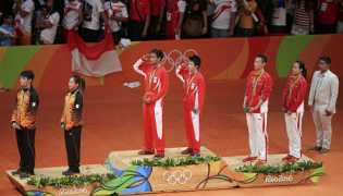 Owi & Butet Juara Dunia Raih Medali Emas Olimpiade