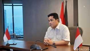 Erick Thohir Rombak Direksi Pelindo III, Ini Susunan Terbarunya
