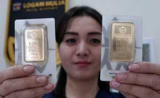 Harga Emas 24 Karat Antam Hari Ini, Senin 13 April 2020