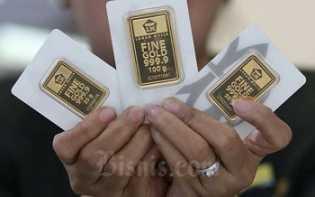Harga Emas 24 Karat Antam Hari ini, Kamis 14 Mei 2020