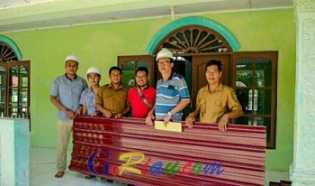 PT Mitrasari Prima Bantu Renovasi Masjid Al-Falah di Desa Segati Dalam Langgam