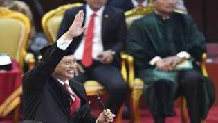 Bambang Soesatyo Ketua MPR, Airlangga Hartarto Ketua Umum Golkar