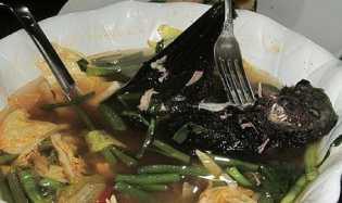 Kuliner Ekstrim, Makan Sup Kelelawar