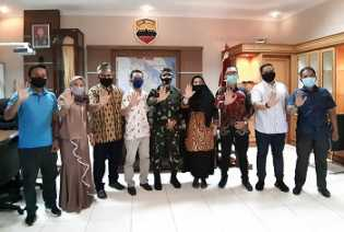 Komnas PA Riau silaturahmi dengan Danrem 031/WB