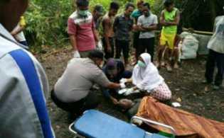 Wafat di Laut, Mayat Ujang Ditemukan di Sungai