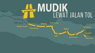 Ini Peta Jalur Mudik 2018 di Jawa