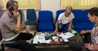 Ditilang, Pemotor di Pekanbaru Ternyata Bawa Ratusan Pil Ekstasi