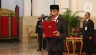 Jokowi Lantik Pimpinan Baru KPK dan Dewan Pengawas Hari Ini