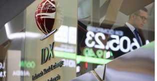 Saham Industri Anjlok, IHSG Ditutup Negatif ke 6.444