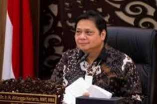 Ekonomi Indonesia Minus 5,32%, Airlangga: Kita Tak Sedalam Negara Lain