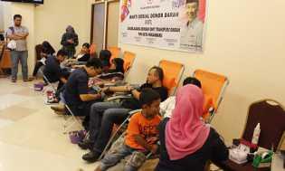 Aksi Donor Darah, Eka Hospital Kumpulkan 219 Kantong Darah