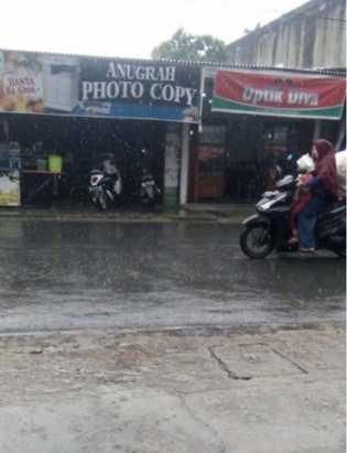 Siang Ini, Tembilahan Diguyur Hujan