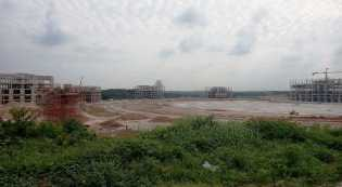 Progres Pembangunan Perkantoran Pemko Pekanbaru Capai 50%