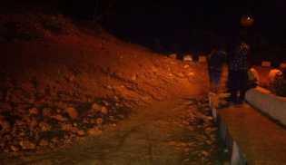 Jalur Longsor di Bukittinggi Sudah Bisa Dilewati