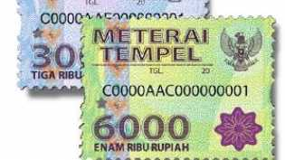 Bea Meterai Rp10.000 Berlaku, Meterai Rp6.000 dan Rp3.000 Masih Bisa Dipakai?