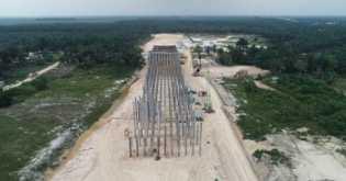 Underpass Khusus Gajah di Tol Pekanbaru-Dumai Bisa Dilintasi 100 Gajah