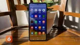 Hands-on Galaxy A72: Smartphone Rp 6 Juta dengan Kamera 64MP dan Refresh Rate 90Hz