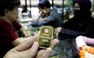 Harga Emas Antam Stagnan di Rp779.000/Gram