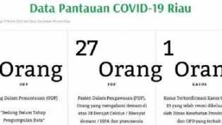 Pemprov Riau Luncurkan Website Penanganan Covid-19