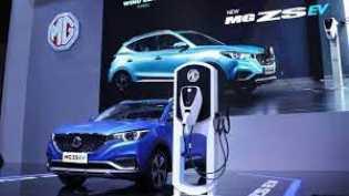 Mobil Listrik MG ZS EV Resmi Diperkenalkan di IIMS Hybrid 2021