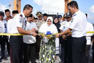 Tunjang Pertumbuhan Ekonomi, Pelabuhan Tambahan Ro-Ro Bengkalis-Pakning Resmi Dibuka
