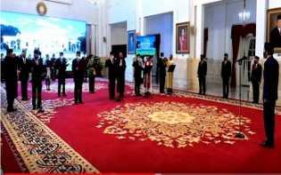 Presiden Lantik Anggota Konsil Kedokteran Indonesia 2020-2025, Ini Daftarnya