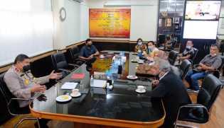 Ketua Komnas Perlindungan Anak Indonesia Kunjungi Mapolda Riau