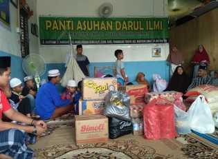 PT Vadhana International Group Berikan Santunan