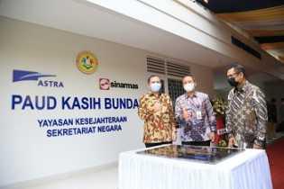 Astra Renovasi Gedung dan Dukung Pengembangan PAUD Kasih Bunda