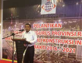 Pengurus ITAKI Riau Dilantik