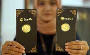 Harga Emas 24 Karat di Pegadaian Hari Ini, Antam dan UBS Beda Arah