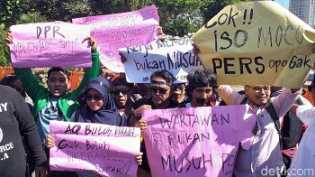 Pak Kapolri, Wartawan Minta Dijamin soal Keamanan Saat Meliput