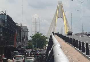 Meski Baut Kurang 100-an, Pemprov Riau Pastikan Jembatan Siak IV Aman