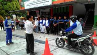 Capella Honda Gelar Edukasi Safety Riding di SMK Muhammadiyah 1