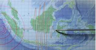 Gempa M 4,3 Guncang Agam Sumatera Barat