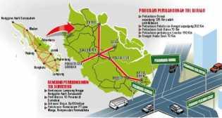 Butuh Rp 60 T untuk Bangun Tol Sumatera 825 Km
