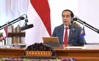 Hadiri KTT Ke-37 Asean Secara Virtual, Jokowi Bahas Pemulihan Ekonomi