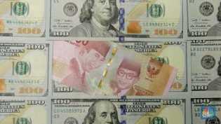 Penutupan Pasar: Rupiah Melemah ke Rp 14.145/US$