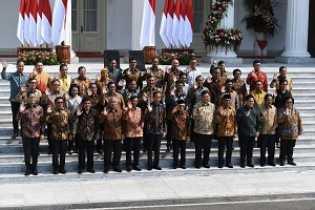Daftar Lengkap Menteri dan Anggota Kabinet Indonesia Maju 2019-2024