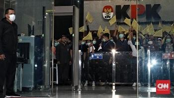 38 Pegawai Mundur dari KPK Sejak UU Baru Berlaku