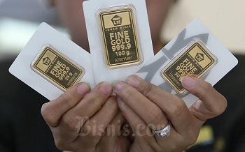 Harga Emas 24 Karat Antam Hari Ini, Rabu 15 April 2020