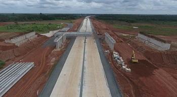 Jalan Tol Pekanbaru - Padang di Kabupaten Kampar Dijadwalkan Selesai 2021