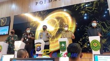 Polda Riau Launching Sistem Tilang Elektronik, Ini Titik Kamera yang Sudah Terpasang di Pekanbaru