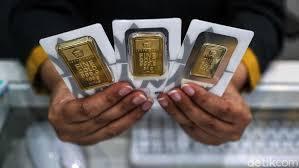 Harga Emas Antam Betah di Rp 774.000/Gram