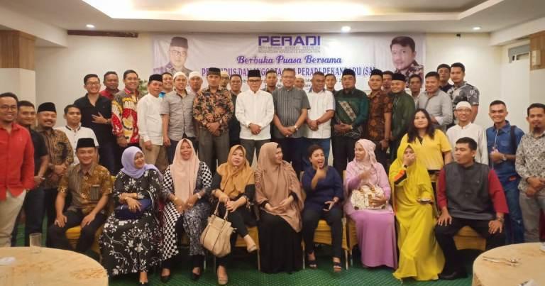 DPC PERADI Pekanbaru Selenggarakan Silaturrahim dan Bukber