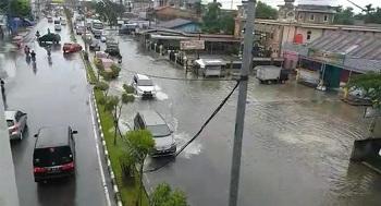Hujan Lebat, Sebahagian Wilayah Pekanbaru Banjir