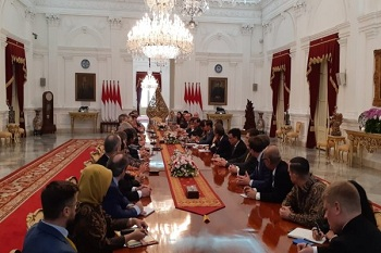 Presiden Jokowi Protes Soal Diskriminasi Kelapa Sawit