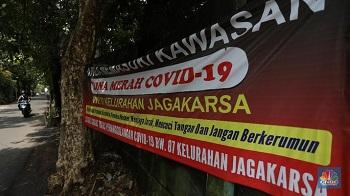 Kini Ada 96 Zona Merah Covid-19 di Indonesia